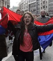 Живелe Србиjа и Русиjа!