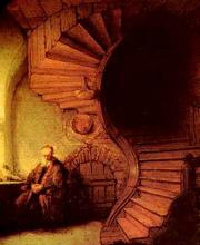Рембрандт ван Рейн ''Философ'' (1633)