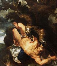 ''Прометей прикованный'', Питер Пауль Рубенс, 1612