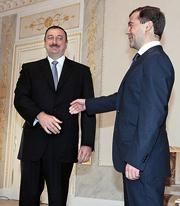 …будет о чем поговорить президентам Медведеву и Алиеву