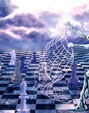 Атлантистская геополитика мыслит правила, закономерности геополитических сражений, но она привыкла считать, что на том конце, на той стороне шахматной доски, находится 'Никто'