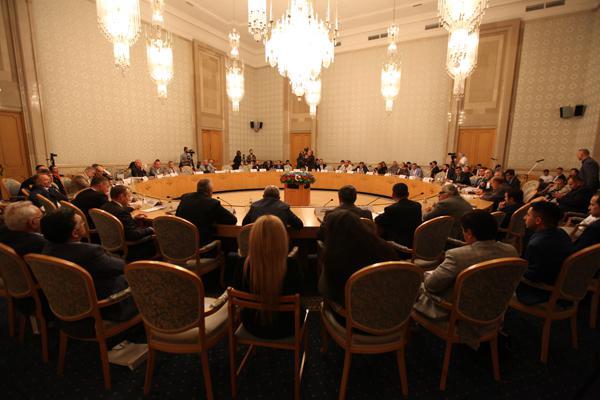 президент отель москва конференция Ось Москва-Баку к новой геополитике Кавказа