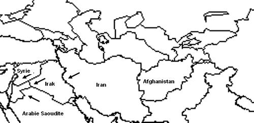 Схема 1. Ближний Восток