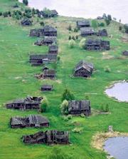 В России - полнейшее вырождение деревни, за исключением разве что некоторых южных регионов