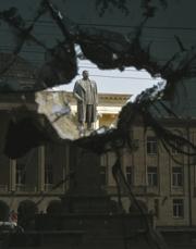 Грузия. Гори. Памятник Сталину