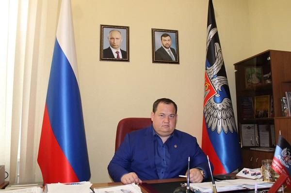 Руководитель Центрального исполкома общественного движения Донецкая Республика Алексей Муратов